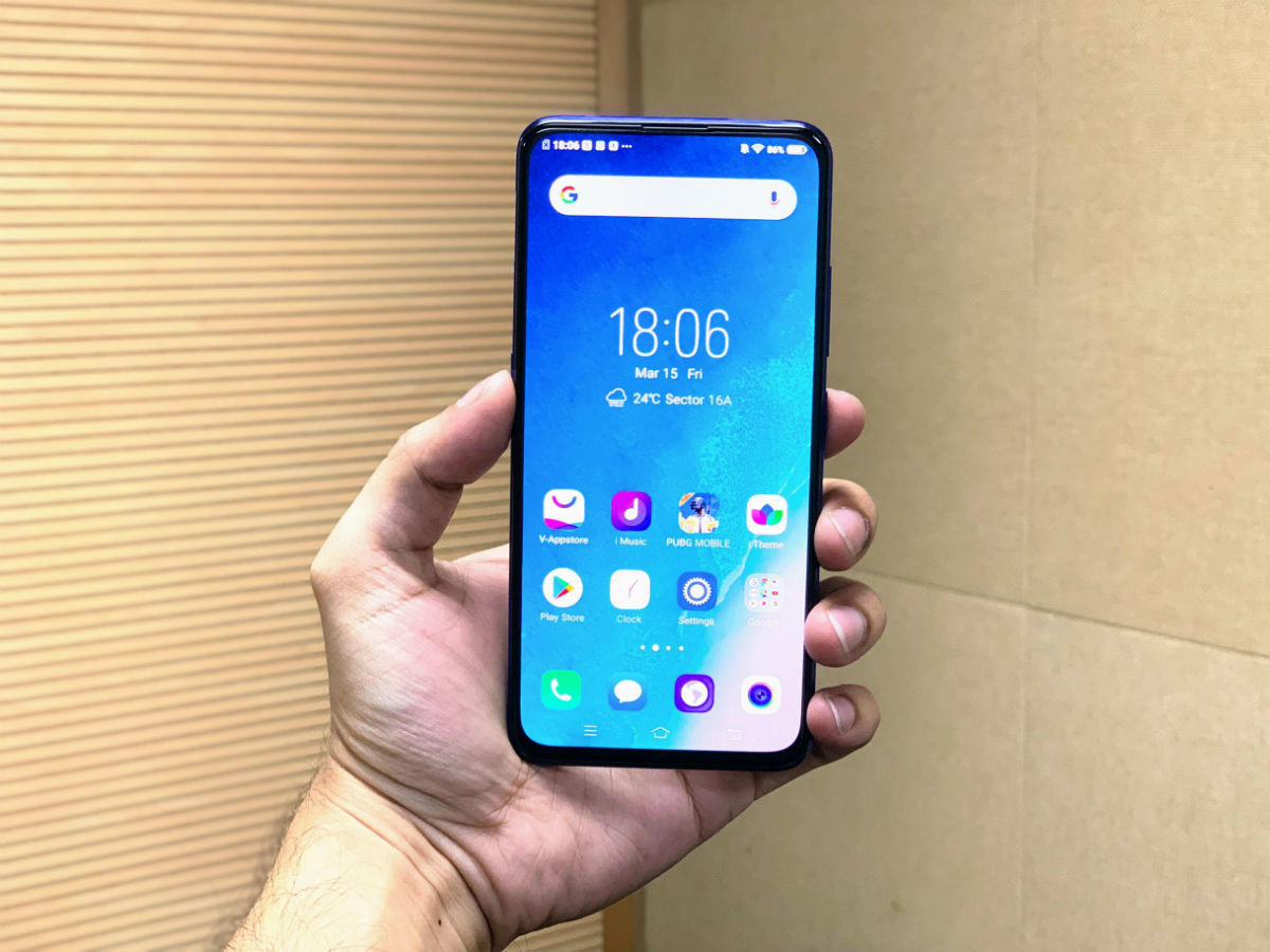 Vivo V15 Pro Mobile Display Front View