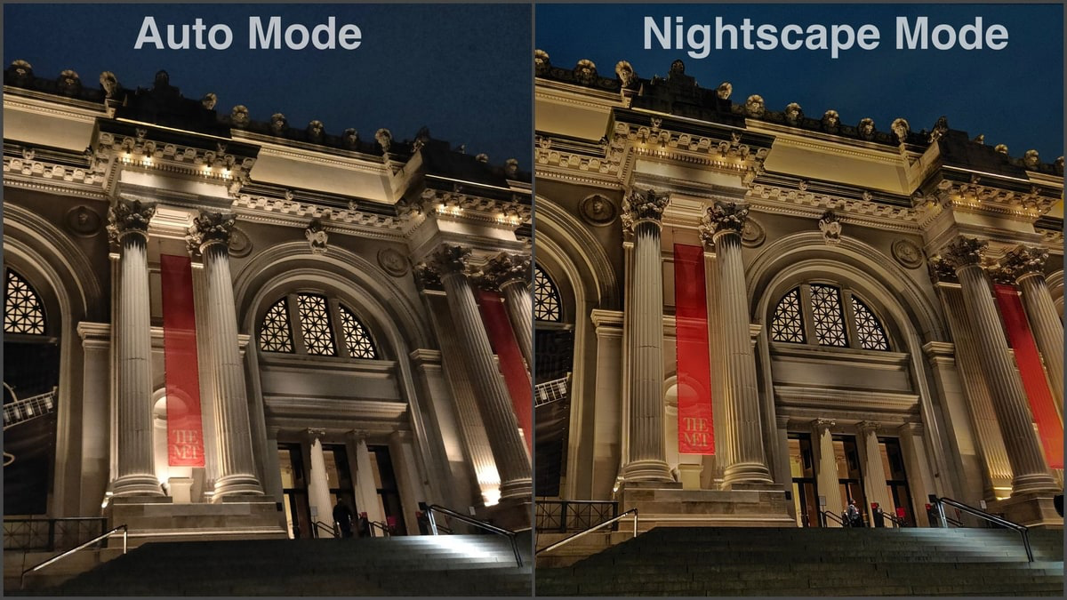 Realme 3 Pro camera captured Fort In Nightscape and Auto mode