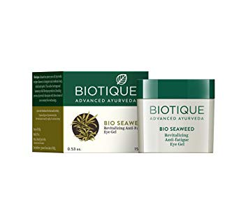 Biotique Bio Sea Weed Natural Eye Revitalizing Cream