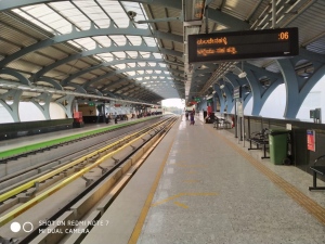 Redmi 7 Camera Captured Railway Platform
