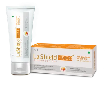 La Shield Glenmark Sunscreen Gel SPF 50
