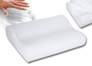 Qualimate Contour Memory Foam Pillow