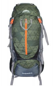 Mount Track Nylon Backpack