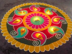 Quick Rangoli Fix