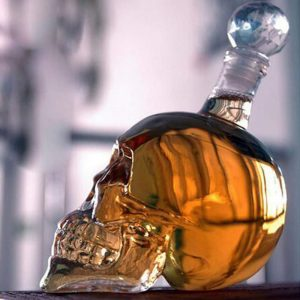 Bonzeal Head Decanter