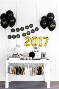 New Year Home Decor