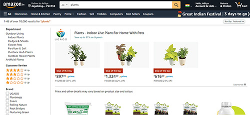 Plant Store by Amazon